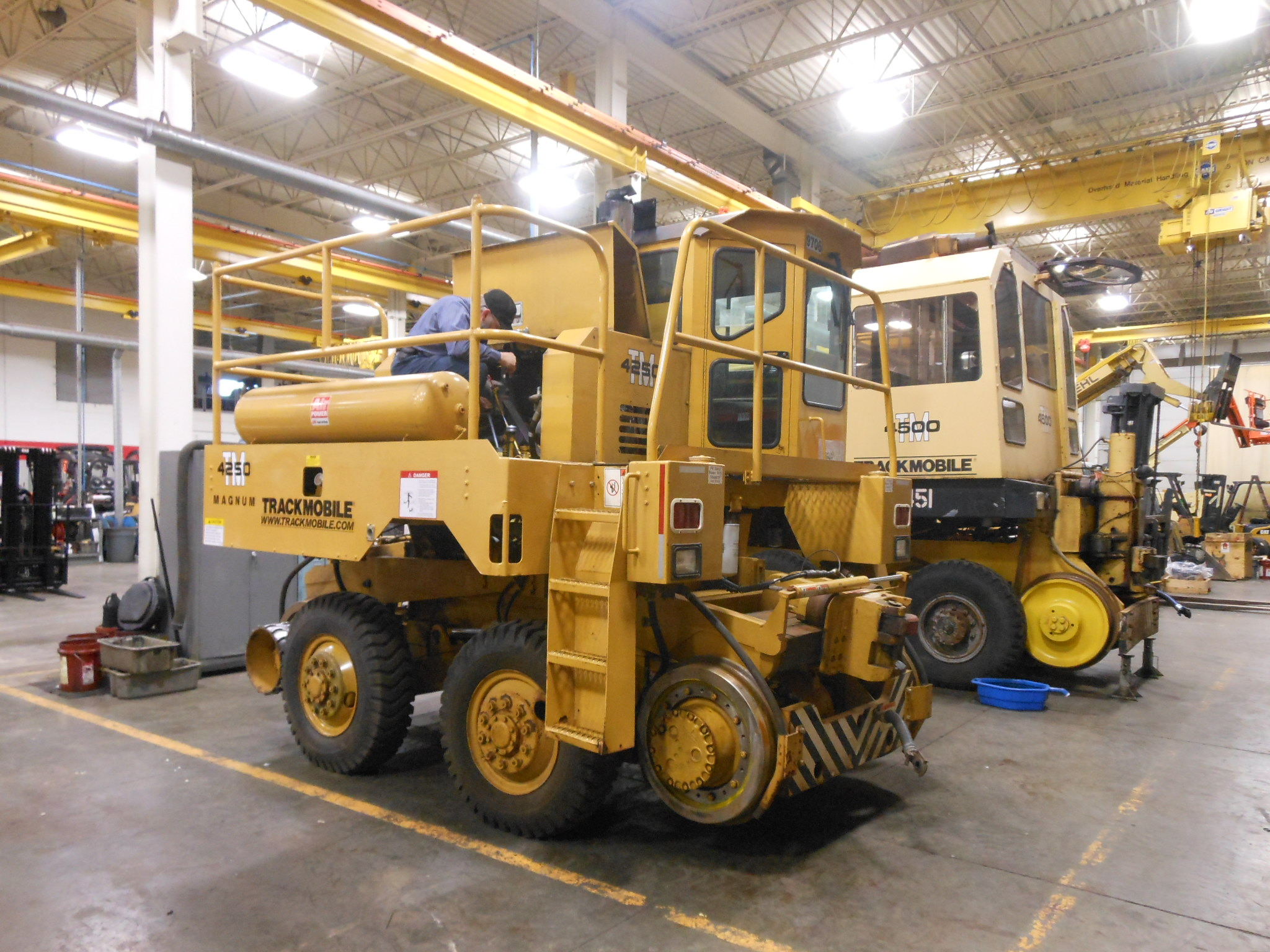 Rail car mover - New & Used, Parts, Service Training & Support