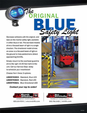 Blue Light Installation Service