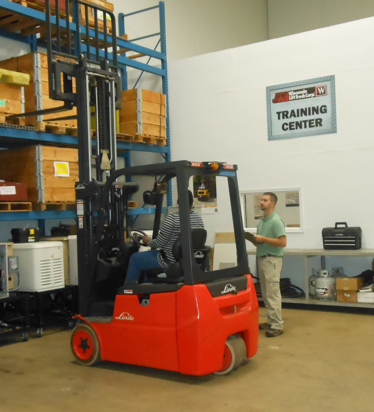 Forklift Operator Training Classes - Illinois
