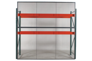 pallet rack wire backing