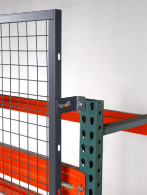 rack back - pallet rack safety backing