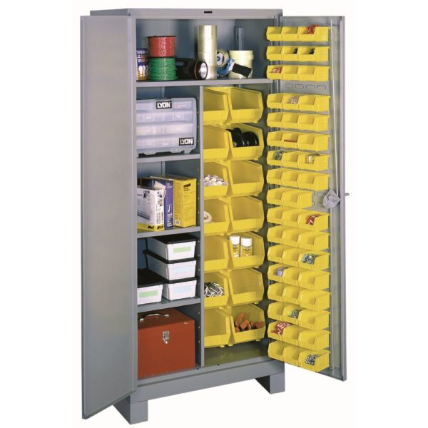 Lyon Shelf and Bin Storage Cabinet